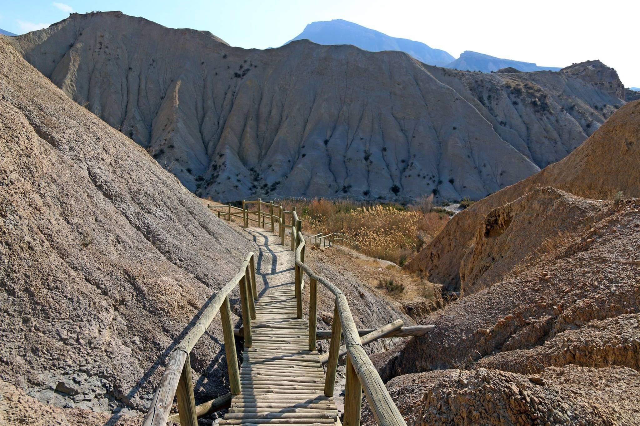 Image of Walking tour through the Tabernas Desert